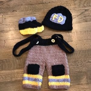 Other - Newborn firefighter outfit